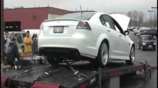 2008 Pontiac G8 GT Exhaust