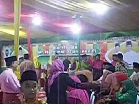 Malam Ta'aruf MTQ Provinsi Riau XXXIII 2014 di Tembilahan   Indragiri Hilir