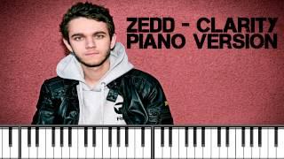 Zedd - Clarity - Piano Version (Instrumental)