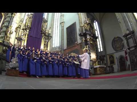 Notre Dame Liturgical Choir - Concert at Church of Our Lady before Týn, Prague