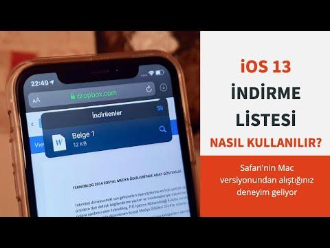 IOS 13: Safari'ye Eklenen Indirme Listesi Nasıl Kullanılır?