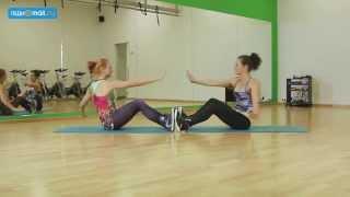 Тренируемся вдвоем: простой комплекс упражнений