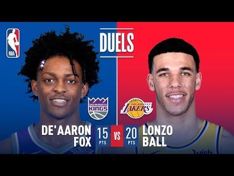 Lonzo Ball And De'Aaron Fox DUEL in Sacramento! | December 27, 2018 thumbnail