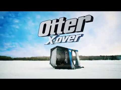 Otter Outdoors XT Pro Lodge X-Over Shelter Package