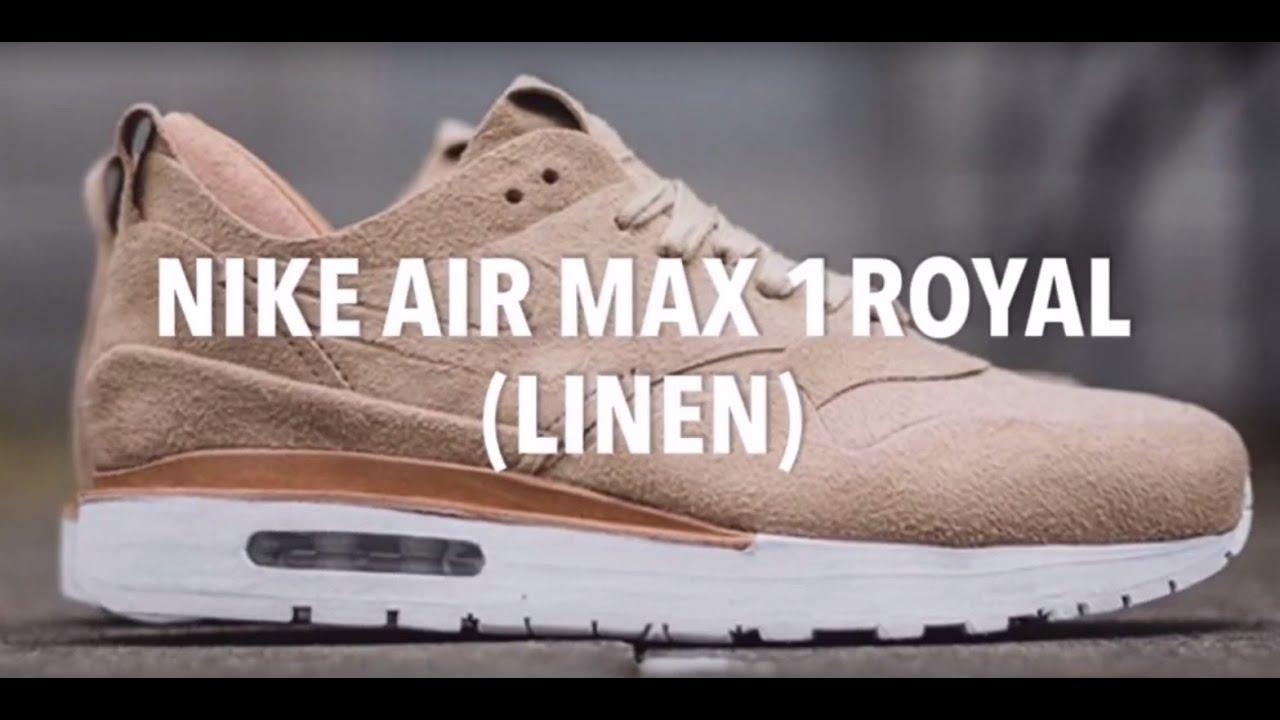 nike air max 1 royal linen midnight