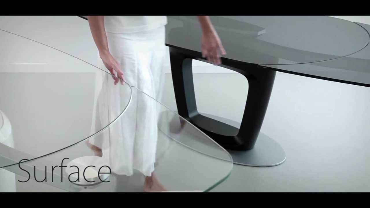 Orbital tavolo designed by pininfarina youtube for Tavolo orbital calligaris offerte