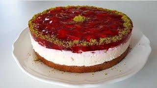 5 Dakikada Dünyanın Ennn Kolay Yaz Pastası-Pasta Tarifleri-Gurbetinmutfagi