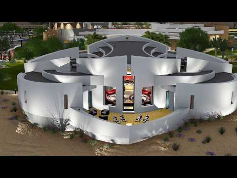 Desert Spa Community Center, SpaceLineDesign Architects