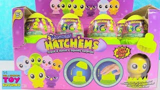 Mashems Hatchems Squishy Surprise Egg Chicks Series 1 Unboxing Toy Review | PSToyReviews