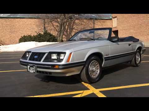 [SOLD] 1983 Ford Mustang GLX Convertible For Sale