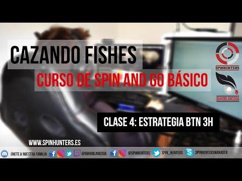 Estrategia SPIN AND GO BTN 3 HANDED - Cazando fishes 🐟🐟 CURSO BÁSICO