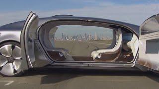 Mercedes F015 Exterior / Interior In Depth Walk Around Mercedes Driverless Car Review CARJAM TV 2016