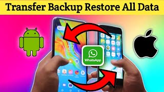 Transfer WhatsApp from iPhone to android 2020 | Mobile Transfer Easy Tricks