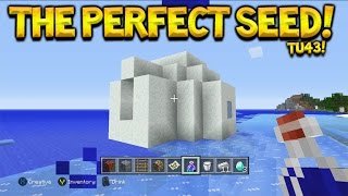 Minecraft Console Edition TU43 The Perfect Seed - ALL New Features + All Biomes & More!