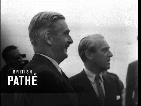 Anthony Eden Visits Berlin (1948)
