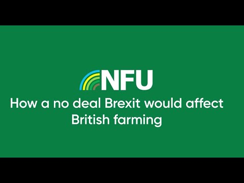 How a no-deal Brexit would affect British farming