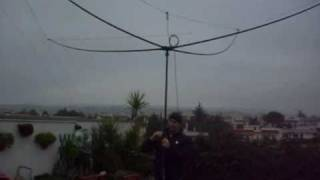 Skypper antenna: erecting in 5 minutes