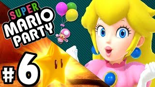 Super Mario Party - 2 Player - Long Live King Bob-omb! - Nintendo Switch Gameplay Walkthrough PART 6