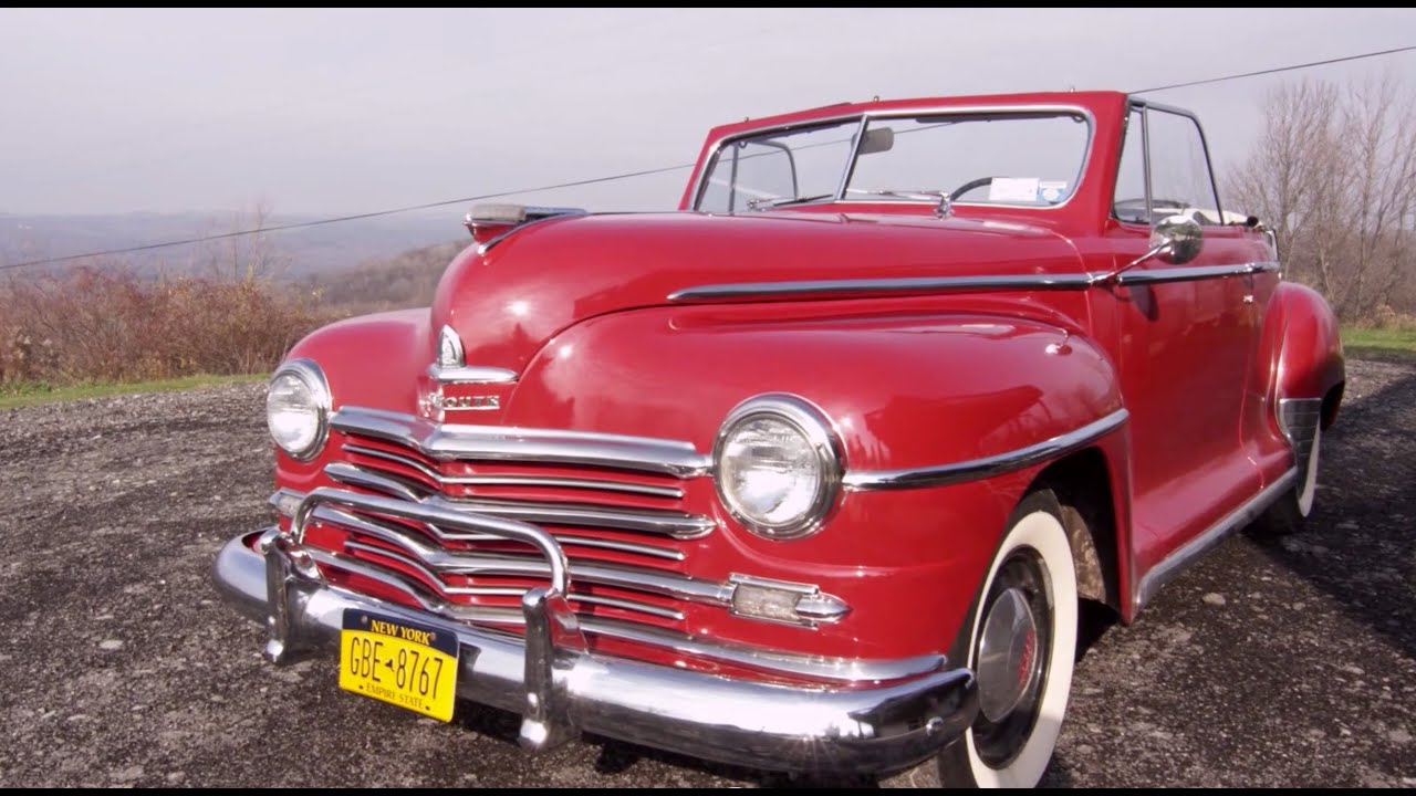 My Parents\' First Car - 1948 Plymouth convertible - YouTube