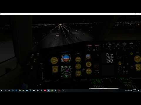 [Flight Factor] Boeing 757-200 first ILS land Rome Fiumicino LIRF