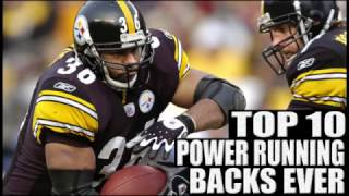 Top 10 Power Running Backs in NFL History