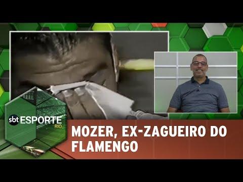 Mozer, ex-zagueiro do Flamengo, participa do SBT Esporte Rio