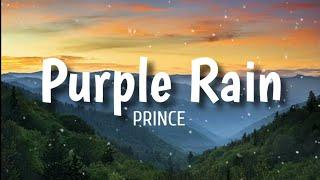 Purple Rain (Lyrics) - Prince