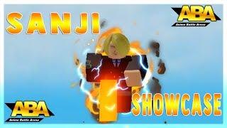 Sanji Showcase | Anime Battle Arena | Roblox