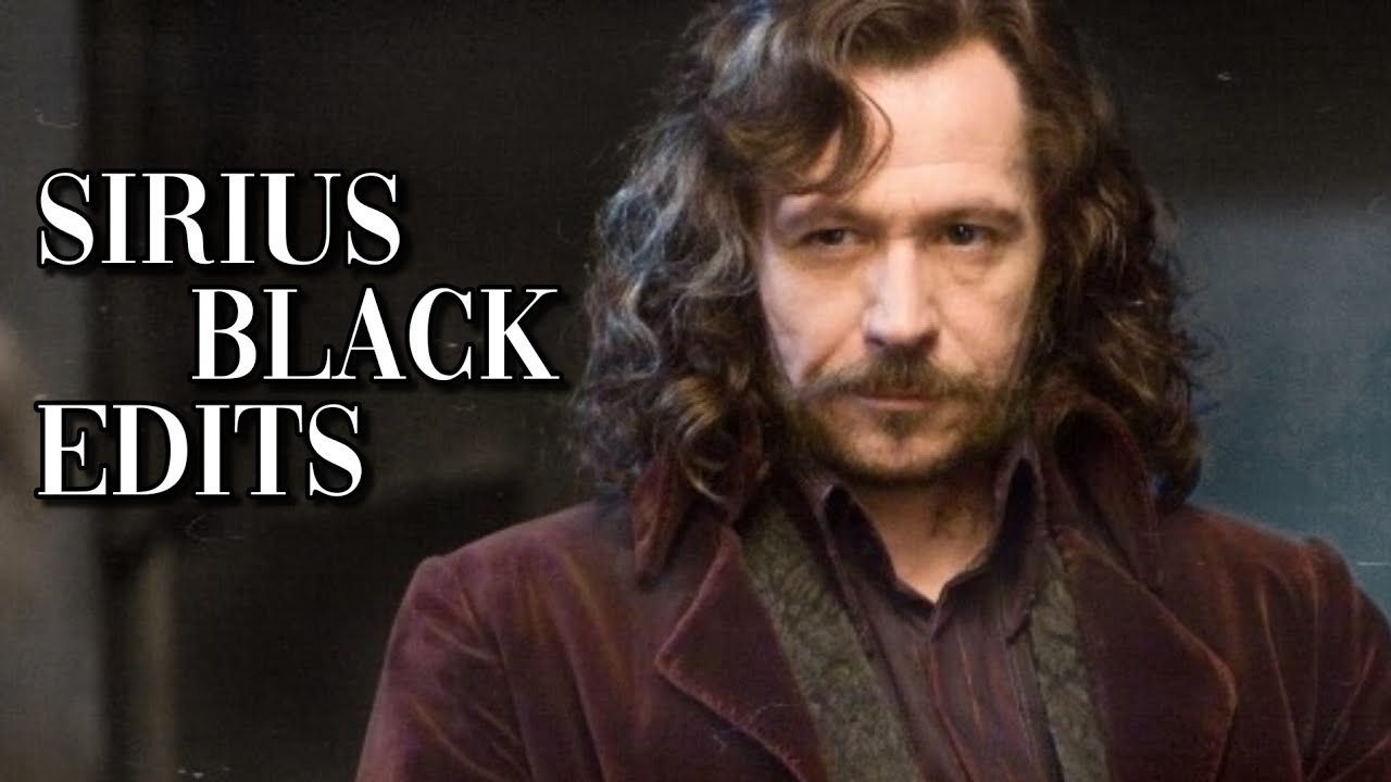 [Harry Potter] Sirius Black edits 🐾
