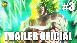 DRAGON BALL SUPER BROLY FILM OFFICIAL TRAILER 3