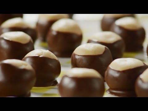 How to Make Buckeye Balls   Cookie Recipes   Allrecipes.com