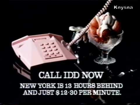 1986 - Hong Kong Telephone IDD (1)