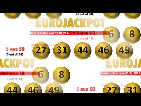 Eurojackpott Gewinnzahlen