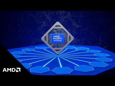 AMD MxGPU Technology - The World's First Hardware Virtualized Graphics Solution