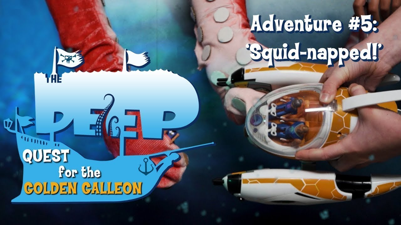 The Deep | Toy Play Adventure: Squid-napped! | Cartoons for Children | WildBrain Cartoons