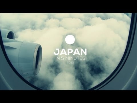 Travel Japan in 5 minutes - July 2013 HD