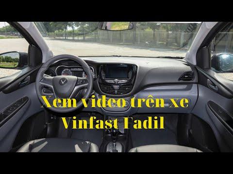 Hướng dẫn xem video xe Vinfast Fadil 2020