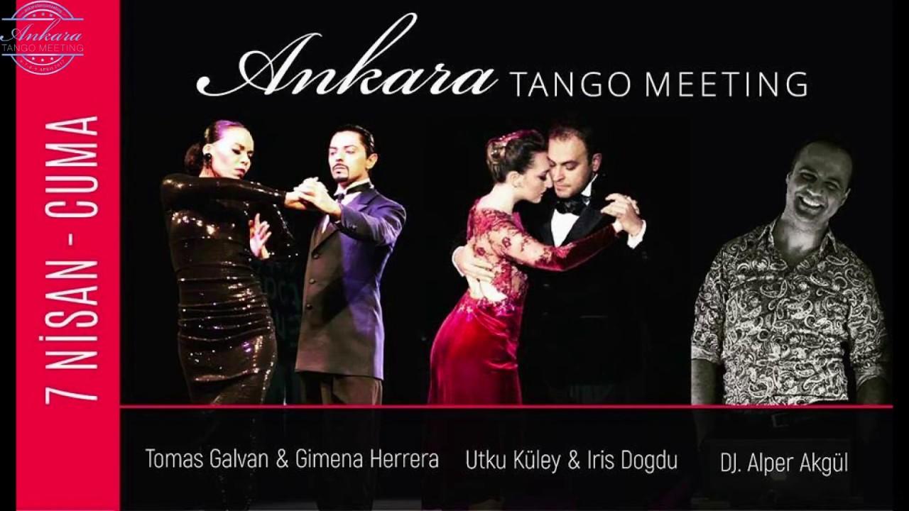 Tomas GALVAN & Gimena HERRERA 4/4 Ankara Tango Meeting 2017