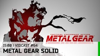 Hrej.cz Vidcast #64: Metal Gear Solid