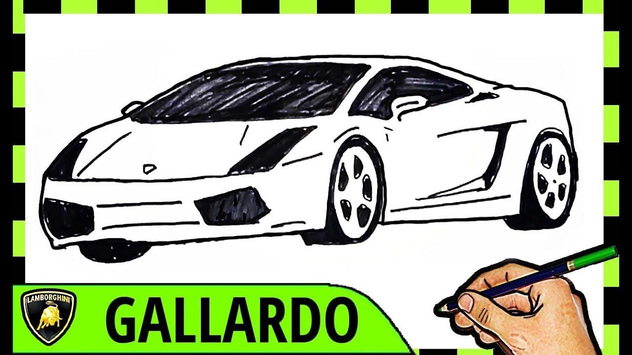 Keren Cara Menggambar Mobil Lamborghini Youtube
