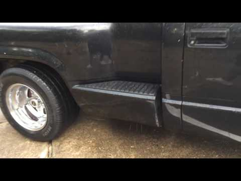 Carven Exhaust on obs Chevy Silverado 1500 - YouTube