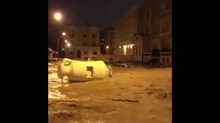 فيضانات الكويت اليوم