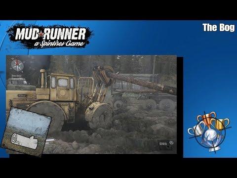 Spintires: MudRunner - The Bog - Trophy/Achievement Guide (CZ)