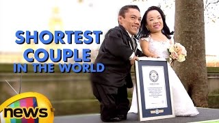 World's Smallest Married Couple Paulo And Katyucia | Record Verified By Guinness World Records
