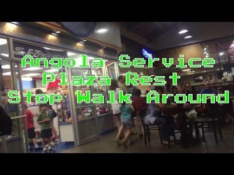 Angola Service Plaza Rest stop Walk Around In Angola, New York