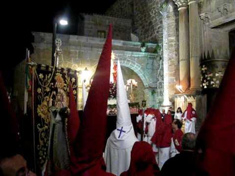 Semana Santa en PLasencia, jueves 1 de abril 2010