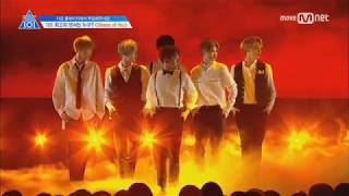 [Produce 101 Season 2] Shape Of You Performance - No Cuts or Audience Shots