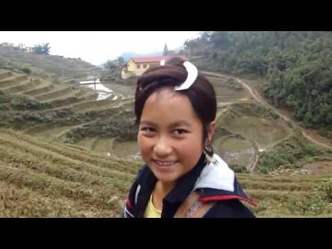 long hair beautiful hmong girl