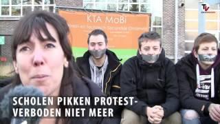 Mobi reageert. Protestverboden hebben omgekeerd effect.