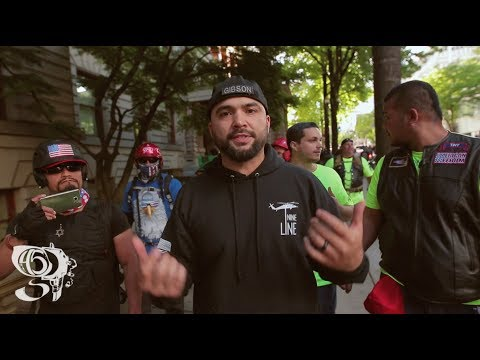 Thumbnail: Joey Gibson/ Free Speech Rally Supporters harassed by Protesters Portland OR